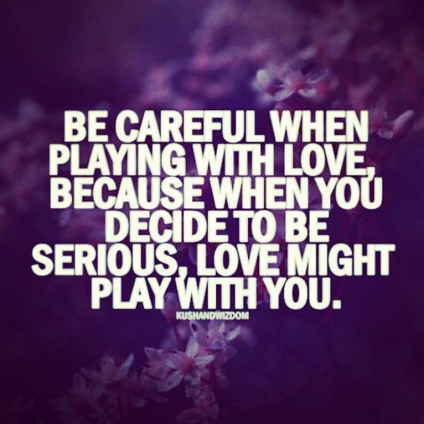 Dont Play With Love Jeneration Life
